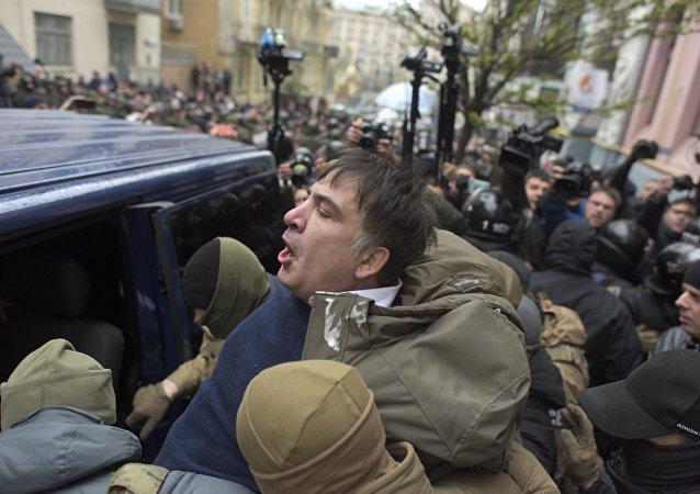 Михаил Саакашвили задержан полицией в Киеве