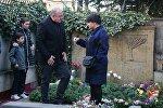 Президент Грузии Георгий Маргвелашвили и супруга экс-премьера Зураба Жвания Нино Кадагидзе