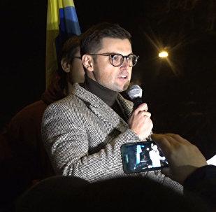 Как сторонники Саакашвили дежурили у СИЗО