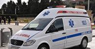 Карета скорой помощи в Баку