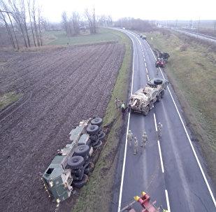 Как американская военная техника увязла в грязи в Польше