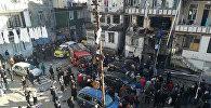 Последствия взрыва газа в жилом доме в Батуми