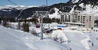 Горнолыжный курорт Годердзи зимой