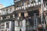 Очевидец снял на видео последствия взрыва в Батуми