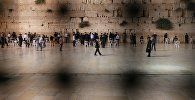 Стена плача в Старом городе в Иерусалиме