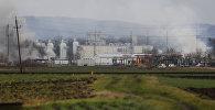 Сильный взрыв на газопроводе в Австрии