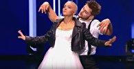 Теона и Александр Крупельницкий на шоу Танцы на ТНТ