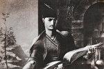 Иллюстрация к поэме Витязь в тигровой шкуре Шота Руставели
