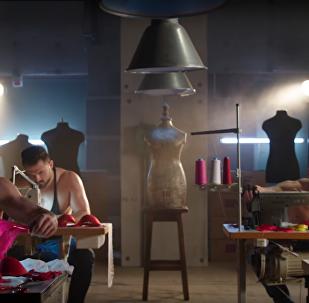 ვიდეოკლუბი: ქალის თეთრეულის მკერავი კაცები