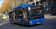 Общественный транспорт на улицах грузинской столицы