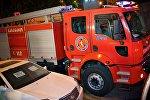 Машина пожарно - спасательной службы 112