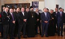 Президент Грузии Георгий Маргвелашвили, премьер Георгий Квирикашвили и другие представители власти в ТГУ