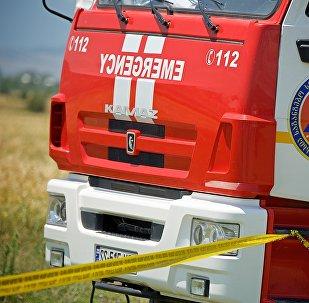 Пожарная машина в регионе