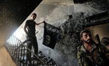 Боевые действия против боевиков Исламского государства (ИГ) в городе Ракка, Сирия