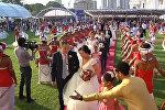 Китайцы устроили массовое бракосочетание в Шри-Ланке