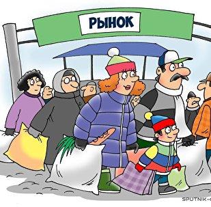 Новогодний рынок