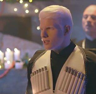 Бера и бэнд GeoFolk Tour исполнили рождественскую и новогоднюю песню