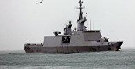 Многофункциональный фрегат-невидимка Guepratte Национального флота Франции прибыл в порт города Батуми