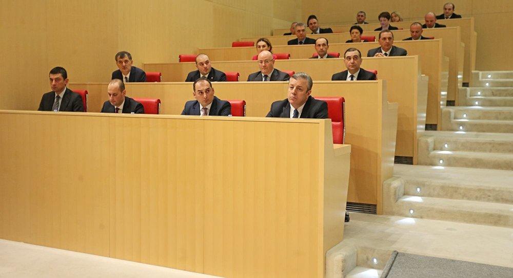 Парламент выразил доверие правительству Квирикашвили