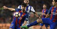 Матч между клубами Барселона и Реал Мадрид в рамках чемпионата Испании
