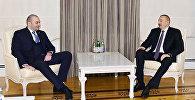Министр финансов Грузии Мамука Бахтадзе был принят президентом Азербайджана Ильхамом Алиевым