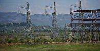 Высоковольные линии электропередач в Западной Грузии