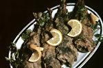 Жареная рыба по-грузински