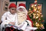 C Рождеством в Финляндии детей поздравляет Санта Клаус