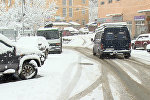 В высокогорной Аджарии выпал снег