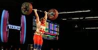 Чемпионка Мира по тяжелой атлетике Анастасия Готфрид