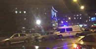 Взрыв произошел в магазине Перекресток в Петербурге. Съемка с места ЧП