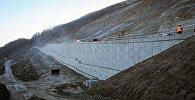 Строительство дороги в Цкнети
