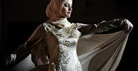 Показ коллекции модной одежды в Грозном