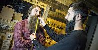 Репортер Sputnik решила узнать, как проходит подготовка к первому конкурсу бородачей в Грузии