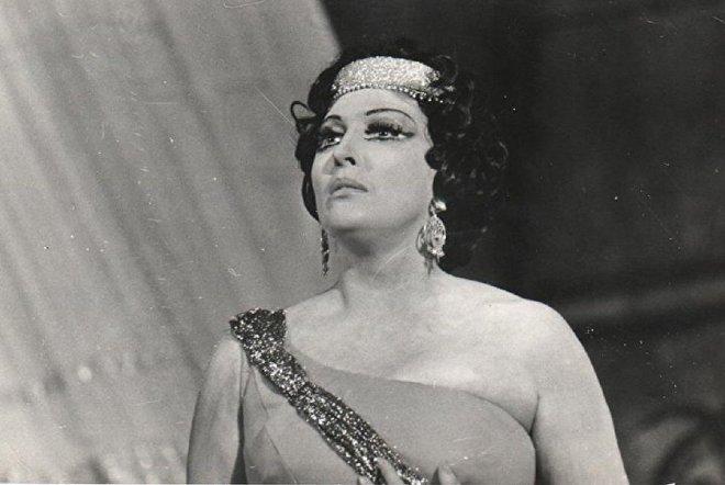 Оперная певица и педагог Цисана Татишвили