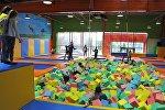 Семейный батутный развлекательный центр Crazy Hall