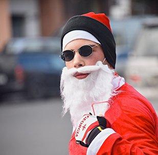 Велозаезд Санта Клаусов