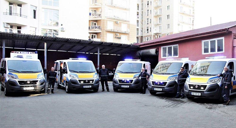 Новые машины скорой помощи Батуми