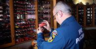 Самая большая коллекция моделей пожарных машин в России