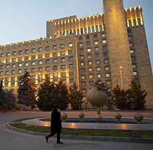 Здание правительственной администрации Грузии