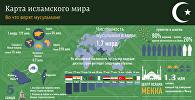 Карта исламского мира