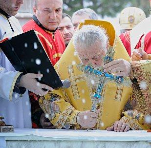 Католикос-Патриарх Всея Грузии Илия Второй, архивное фото