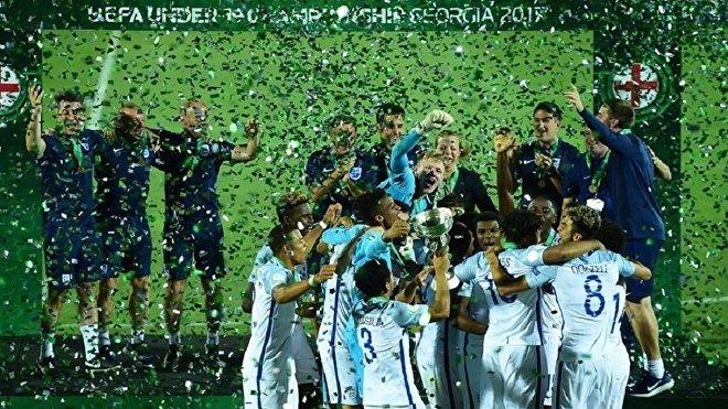 Сборная Англии по футболу U-19 стала чемпионом Европы в Тбилиси