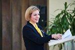 Парламентский секретарь президента Грузии Анна Долидзе