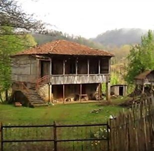 Село Эркети в Западной Грузии