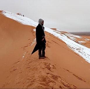 თოვლი საჰარაში