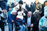 Дети с ограниченными возможностями в гостях у президента Грузии