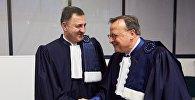 Судья и председатель ЕСПЧ Ладо Чантурия и Гвидо Раймонди
