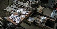 Изготовление фальшивых монет номиналом в 1 лари