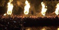 Новогодняя церемония изгнания демонов прошла в японском Куруме